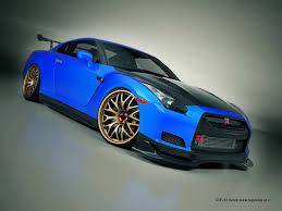 nissan skyline 2015 blue. Plain Nissan Nissan GTR Nice Blue Color Skyline Gtr R35 Gt 2015  And