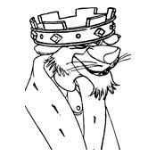 Small Picture Coloring pages Robin Hood Disney