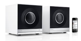 speakers with chromecast built in. raumfeld stereo cubes with chromecast built-in speakers built in y