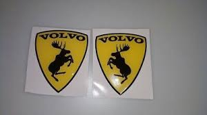 Yes, a volvo wagon can be (but not usually) faster than a ferrari 458 italia. 2x Volvo Prancing Moose Silicone Waterproof Decals Stickers Ferrari Parody 73 X 60mm Volvo Volvo Logo Logo Sticker