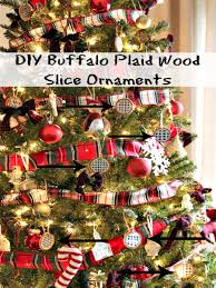 Plaid Christmas Tree 10 Diy Ways To Use Plaid In Your Christmas Decor O Sweet Parrish Place