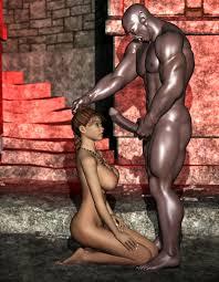 Black monster cock gagne forced