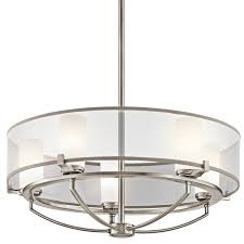 kichler 42921clp classic pewter 5 light chandelier from the saldana collection 24 inches wide lightingdirect com