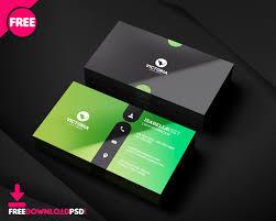 Simple Business Card Design Template Clean Business Card Minimalist Business Card Template Free