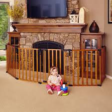 com north states superyard 3 in 1 wood gate indoor safety gates baby