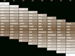 Bra Size Calculator Intended For Sister Bra Size Chart