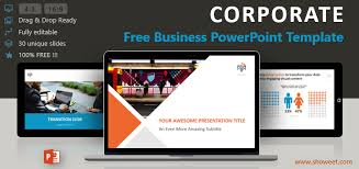 Powerpoint Theme Professional Corporate Business Powerpoint Template