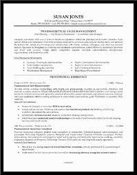 Resume For Pharmaceutical Sales Sales Rep Sample Resume