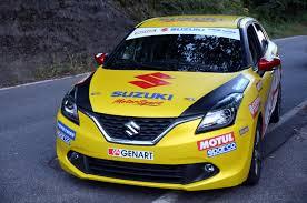 Suzuki Baleno SR rally front end unveil - Indian Autos blog