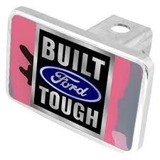 pink built ford tough logo. Brilliant Logo Eurosport Daytona  Ford Motor Company Premium Hitch Plug Intended Pink Built Tough Logo