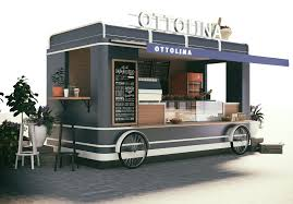 Food Truck Design Food Truck Design For Ottolina Cafe Shop It Looks Yami Yami
