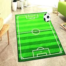 fantastic football field area rug baseball rugs home decorating with regard to football field rug plan