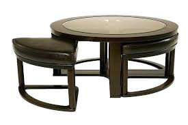 marion coffee table coffee table with 4 stools round marion round coffee table with stools