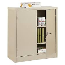 metal storage cabinet. Realspace 42 Steel Storage Cabinet With Metal 1
