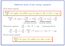 energieerhaltung advection conduction diffusion equation synopsis of course flow and transport ws 2017