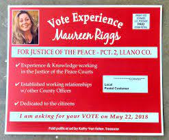 Maureen Riggs for JP2 Llano County - Home | Facebook