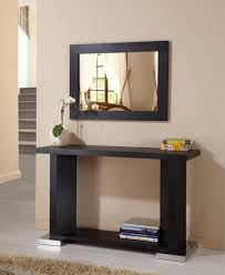 modern sofa table. Console Table And Mirror Set Make Your Room More Inviting Modern Sofa