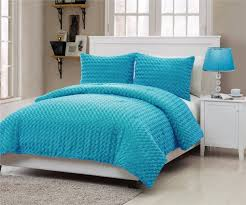 Bedroom: Add Warmth To Your Bed With Fuzzy Comforter Set ...