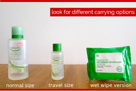 how to pack liquid toiletries diffe carrying options