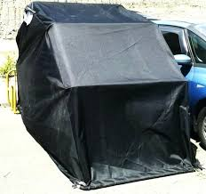 motorcycle outdoor storage motor shed bubble winter
