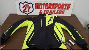 16007 70119 Mens Fxr Recoil Snowmobile Jacket For Sale