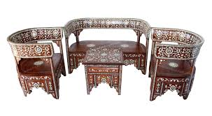 moroccan lounge furniture. Moroccan Furniture Living Room Set Mother Of Pearl Lounge