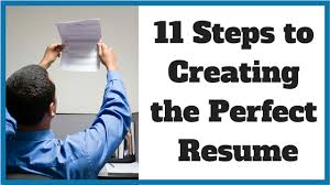 Creating A Perfect Resume 11 Steps To Creating The Perfect Resume Noomii Career Blog