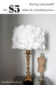 Diy Lampshade Shedding Light On A Diy Lampshade Heathered Nest Rule Your