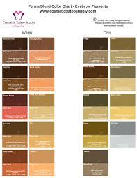 Softap Color Chart Permanent Makeup Color Chart Makeupview Co
