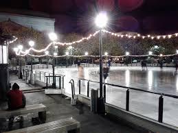 national archives ice skating rink sculpture garden 2016