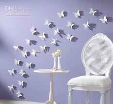 Small Picture 3d 55cm Vivid Butterfly Wall Sticker Decor Pop Up Sticker Home