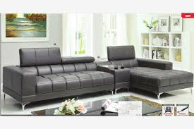 modern grey sectional sofas. Brilliant Sofas Inspiring Grey Leather Sectional Sofa With Modern Gray  Chaise Console Bluetooth Speaker On Sofas