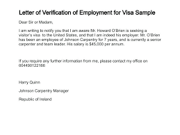 Recommendation Letter For Visa Application Salary Confirmation Letter Sample To Embassy From Employer Support