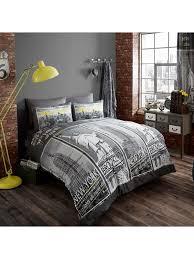 new york landmarks single duvet cover bedding set