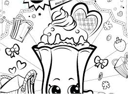 Coloring Pages Shopkins Printable Coloring Page Pages To Print Out