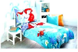 ariel bedding set twin the little mermaid bedroom sets toddler princess