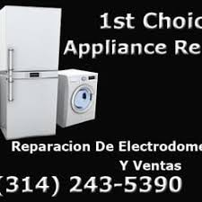 appliance repair st louis. Contemporary Appliance Photo Of 1st Choice Appliance Repair  StLouis MO United States For St Louis S