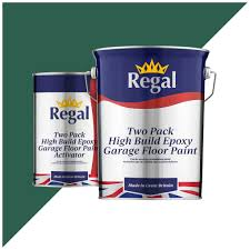 Two Pack High Build Epoxy Garage Floor Paint Regal Paints