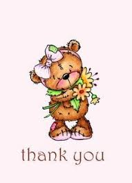 Sweet Teddy Bear Thank You Card Cards Thank You Cards Thank You
