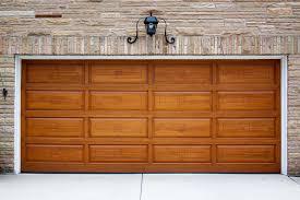 types of garage door materials