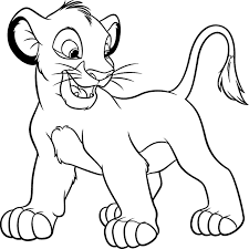 Small Picture Coloring Page Lion Lion Coloring Pages nebulosabarcom