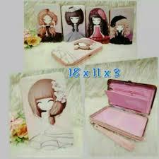 dompet tepak case box hp barbie kartun cantik