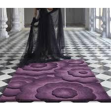 flair textures realm purple rug