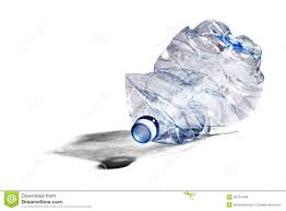 Plastic Bottle Recycling Crumpled Plastic Bottle Recycling Stock Photos Images Pictures