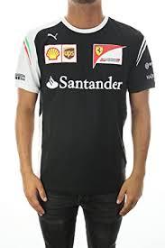 Amazon Com Puma Men S Ferrari Team T Shirt Clothing