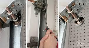 how to lubricate a garage doorhow to oil garage door tracks  House Design