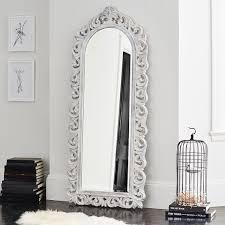 floor mirror. Ornate Floor Mirror E