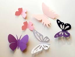 3d wall decals butterflies wall decals white paper butterfly wall sticker  room wall decals white paper . 3d wall decals butterflies ...