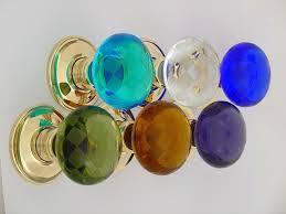 blue glass door knobs. Colored Glass Door Knobs Photo - 10 Blue V