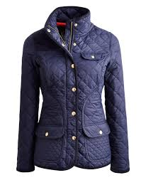 Joules Ladies Calverly Quilt Jacket Navy | Red Rae Town & Country & CALVERLY Womens Quilted Jacket Adamdwight.com